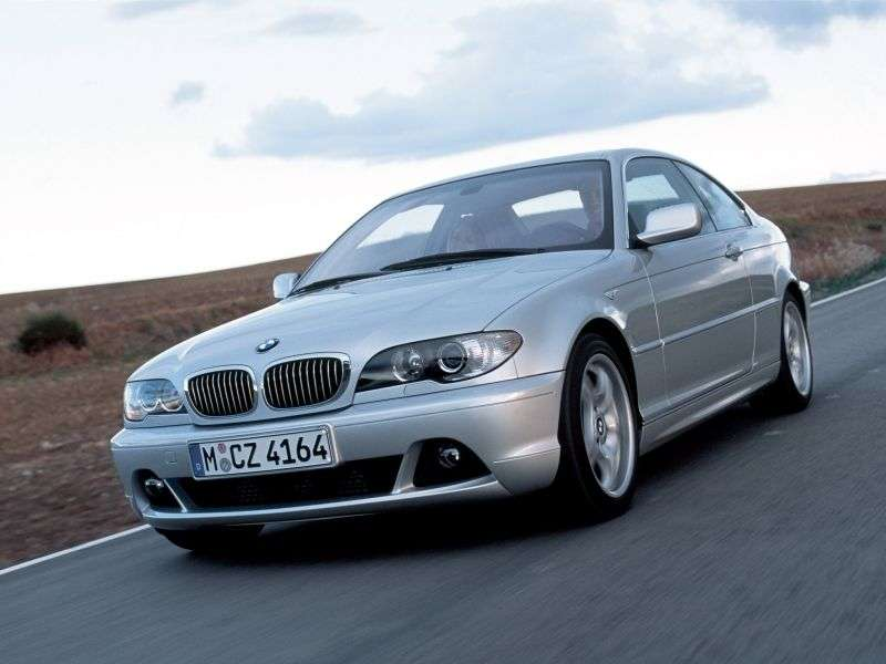 BMW 3 Series E46 [Restyled] Coupe 330Cd MT (2003–2006)
