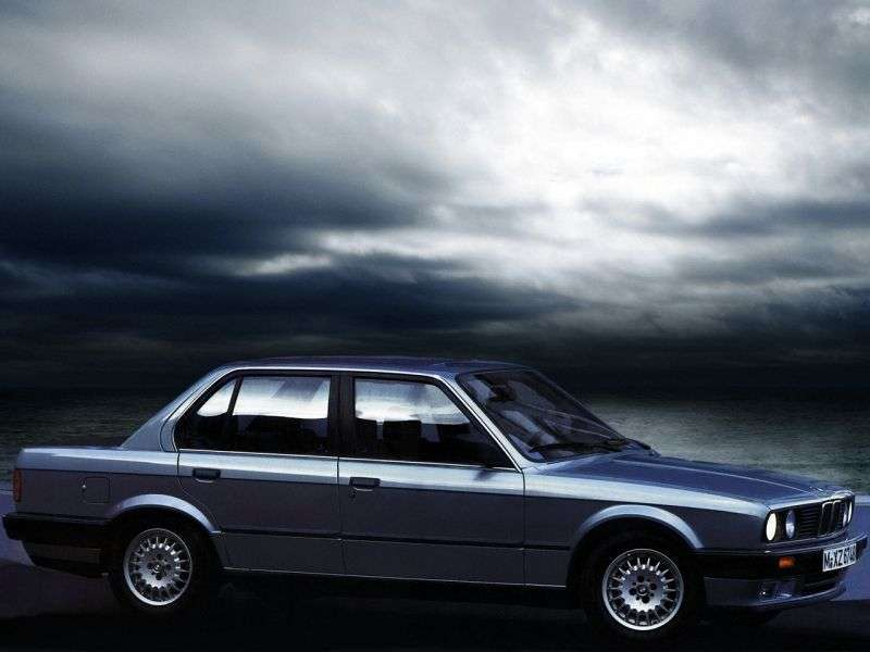 BMW 3 Series E30 [restyling] 4 door sedan. 324d MT (1987–1990)