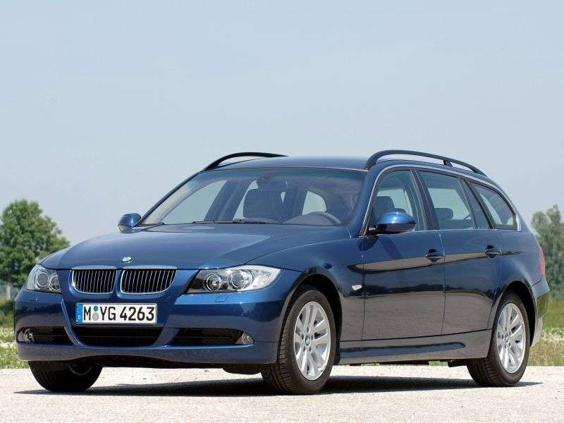 BMW 3 Series E90 / E91 / E92 / E93 Touring 335xi AT Touring (2007–2008)