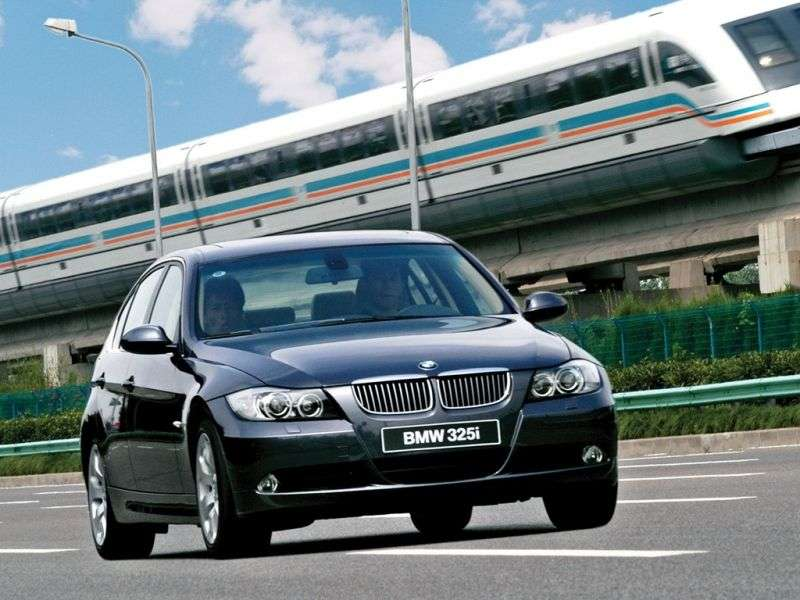 BMW 3 Series E90 / E91 / E92 / E93sedan 325xi MT (2007–2008)