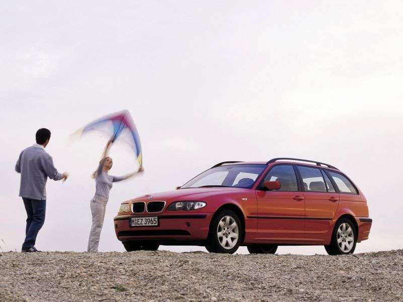 BMW 3 Series E46 [restyling] Touring 330xd AT Touring (2003–2005)