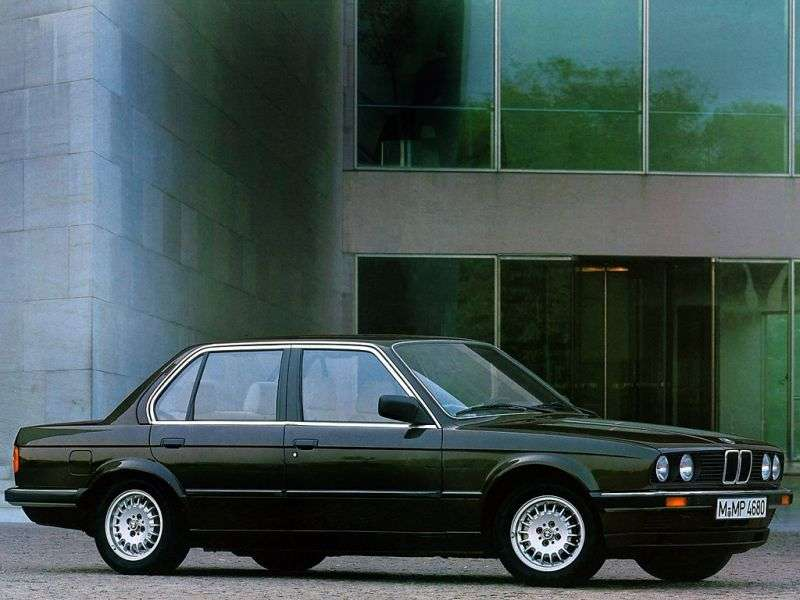 BMW 3 Series E30sedan 4 bit 325i kat AT (1986–1987)