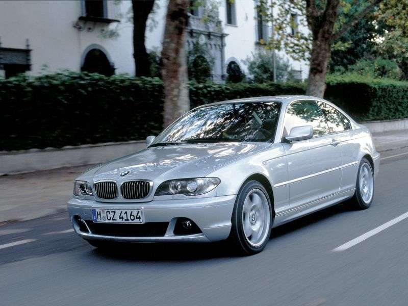 BMW 3 Series E46 [Restyled] Coupe 318Ci MT (2003–2006)