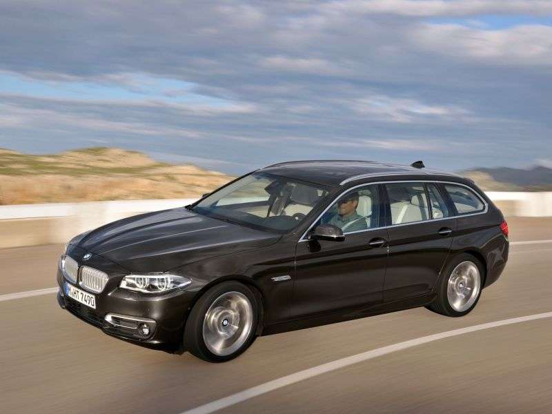 BMW 5 Series F10 / F11 [Restyled] Touring 535i MT Touring (2013 – v.)