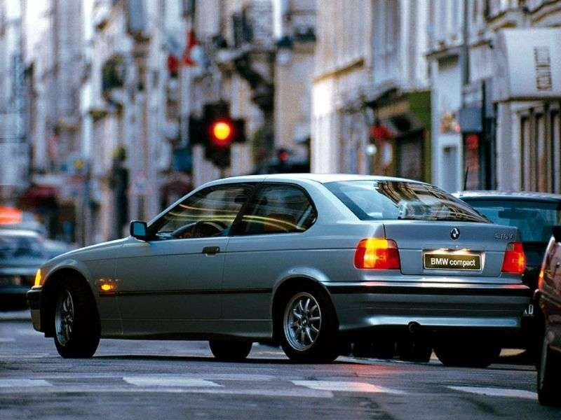 BMW 3 Series E36Compact Hatchback 323ti AT (1997–2000)