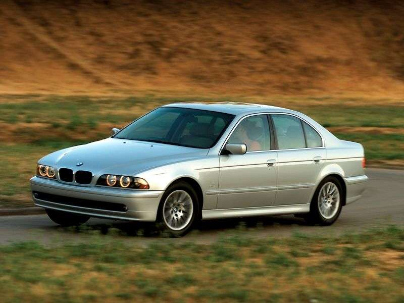BMW 5 Series E39 [restyling] 530d AT Sedan (2000–2003)