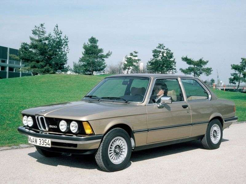 BMW 3 Series E21sedan 315 4MT (1981–1983)