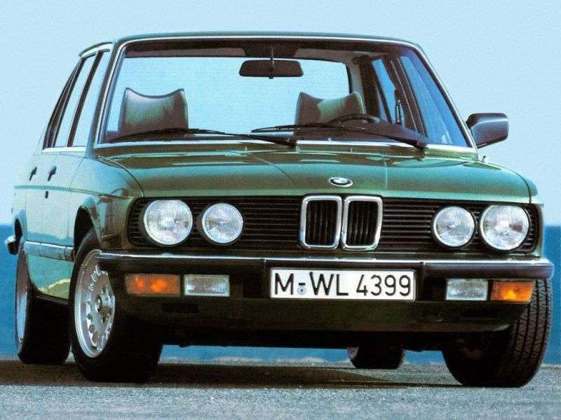 BMW 5 Series E28sedan 528e 4AT (1984 1987)