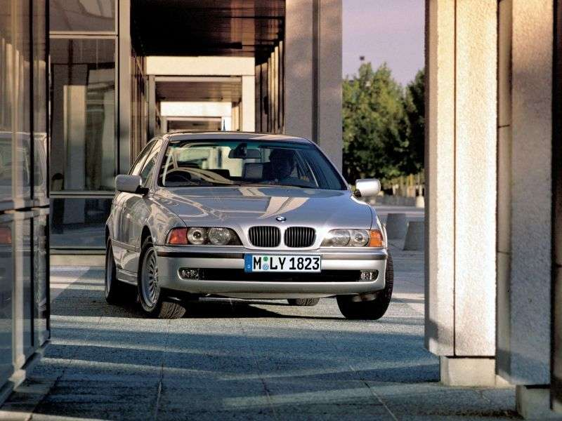 BMW 5 Series E39sedan 4 bit AT 520i (1998–2000)
