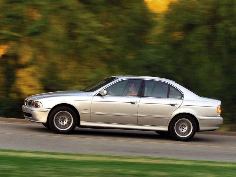 BMW 5 Series E39 [restyling] 535i MT Sedan (2000–2003)