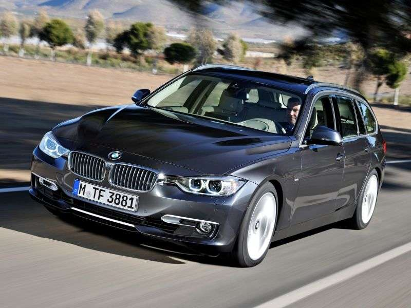BMW 3 Series F30 / F31Touring Wagon 328i xDrive AT Sport Line (2012 – current century)