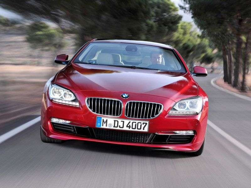 BMW 6 series F06 / F12 / F13 coupe 2 bit. 640d AT Basic (2011 – current century.)
