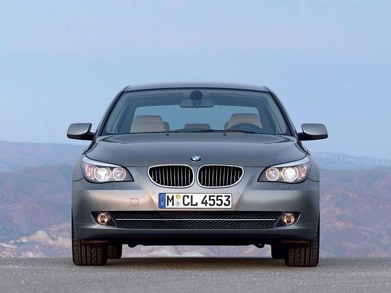 BMW 5 Series E60 / E61 [Restyling] 525d MT Sedan (2007–2010)
