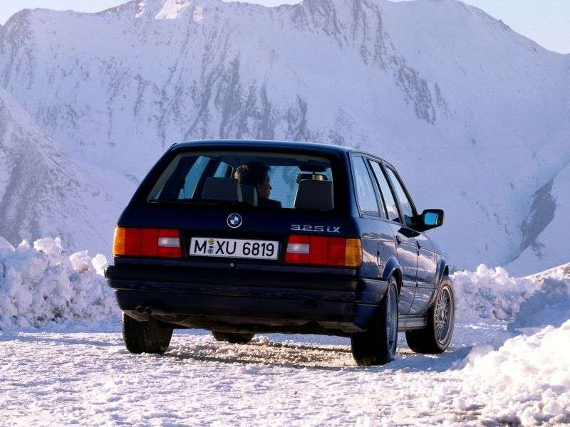 BMW 3 Series E30 [Restyled] Touring 318i MT Touring (1989–1991)