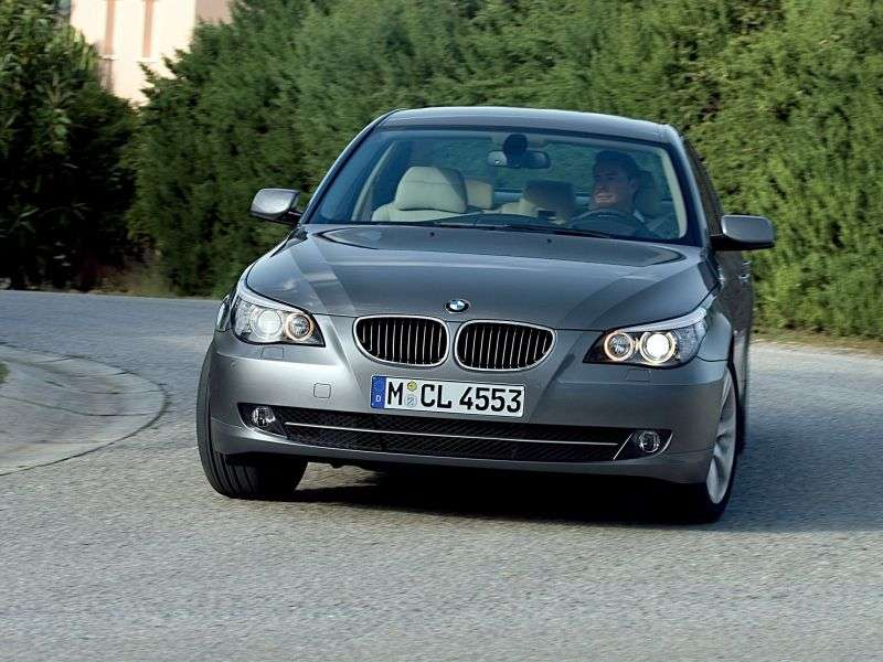 BMW 5 Series E60 / E61 [Restyling] Sedan 540i MT (2007–2010)