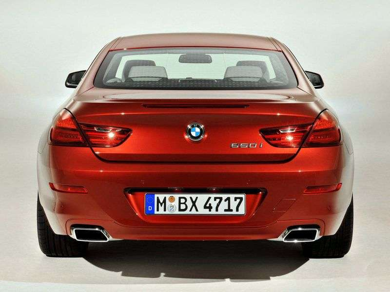 BMW 6 series F06 / F12 / F13 coupe 2 bit. 640d xDrive AT Basic (2012 – current century)