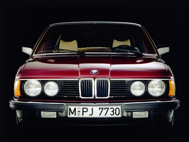 BMW 7 Series E23 [Restyling] 735i MT Sedan (1982–1986)