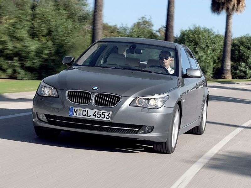 BMW 5 Series E60 / E61 [Restyling] 520i MT Sedan (2007–2010)