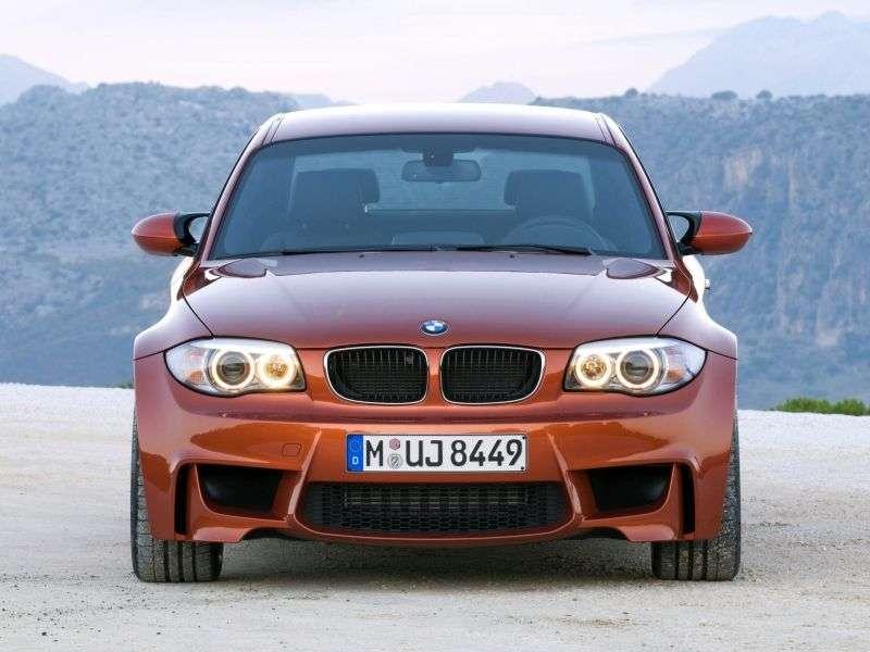 BMW M Series E81 / E82 / E87 / E88 1 Series Coupe 3.0 MT Basic (2010–2012)