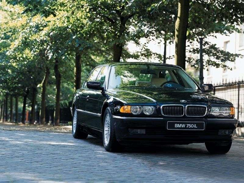 BMW 7 Series E38 [restyling] AT 735i Sedan (1998–2001)