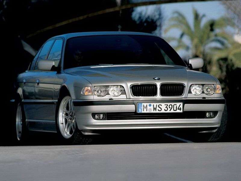 BMW 7 Series E38 [restyled] 728iL AT sedan (1998–2001)