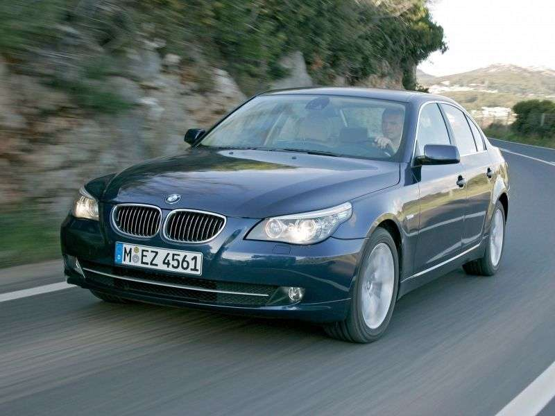BMW 5 Series E60 / E61 [Restyling] 530xi MT Sedan (2007–2010)