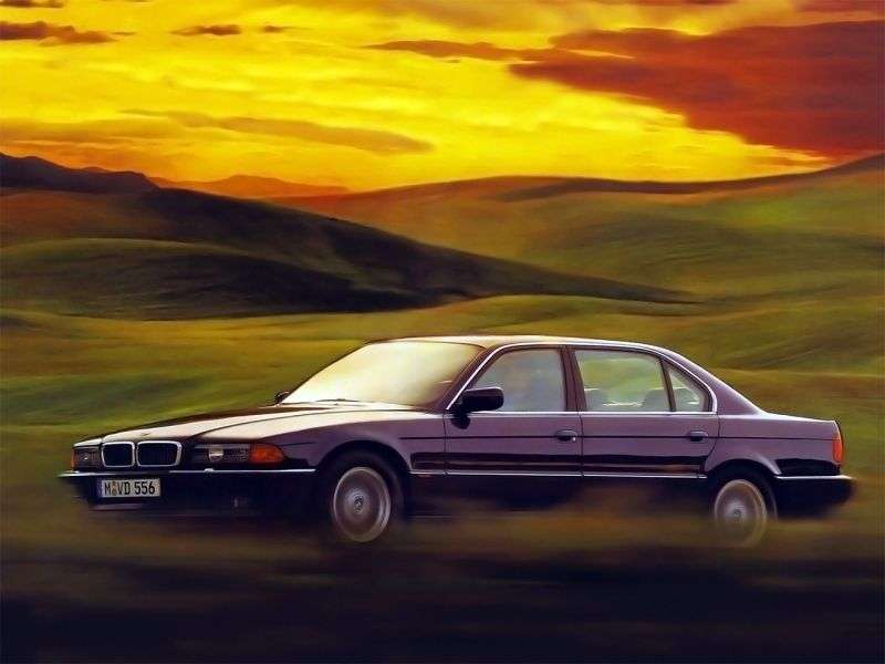 BMW 7 Series E38sedan 750i AT (1994–1998)