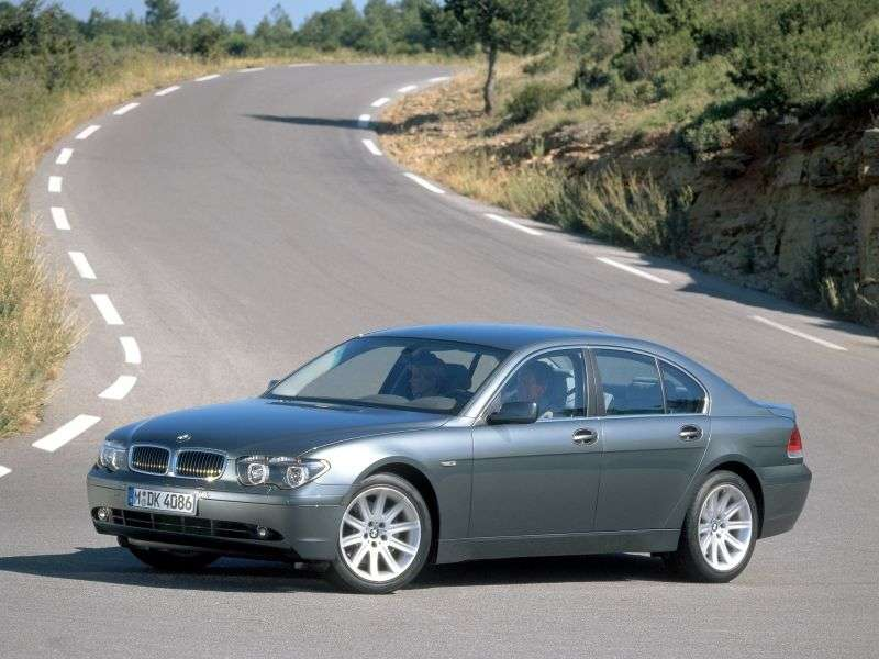 BMW 7 Series E65 / E66sedan 4 bit. 760Li AT (2003–2005)