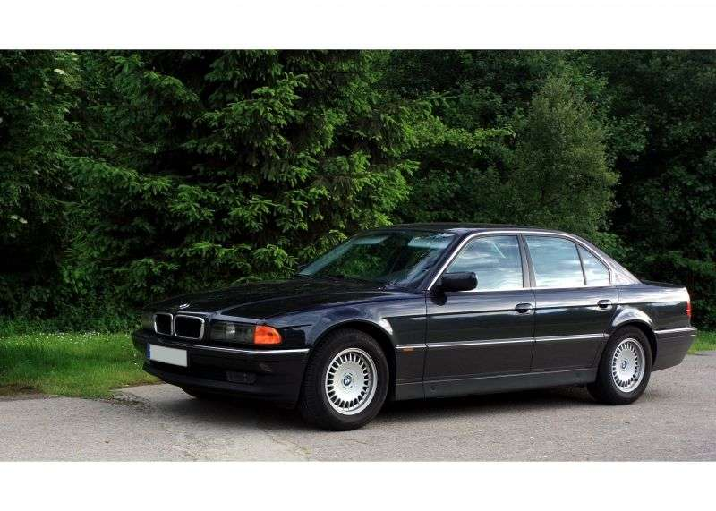 BMW 7 Series E38sedan 725tds MT (1996–1998)