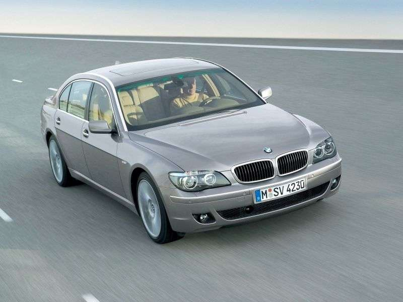 BMW 7 Series E65 / E66 [Restyling] AT 730i Sedan (2005–2008)