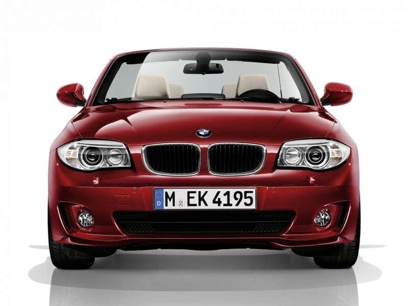 BMW 1 Series E82 / E88 [2nd Restyling] 120d AT Convertible Basic (2008 – present)