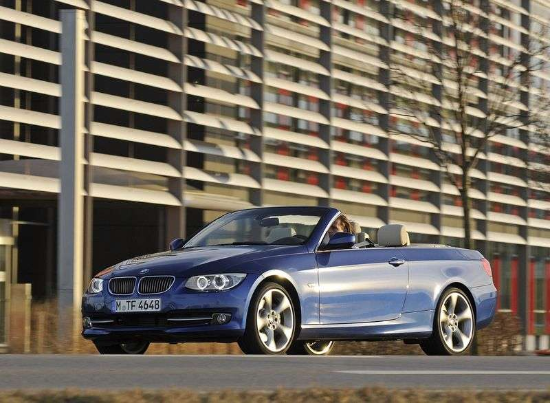 BMW 3 Series E90 / E91 / E92 / E93 [Restyling] 325d AT Convertible (2010 – current century)