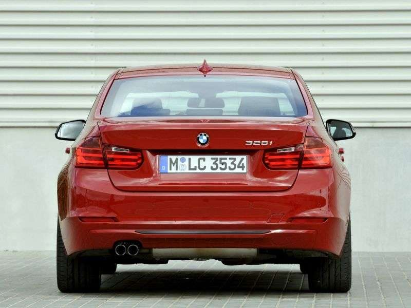BMW 3 Series F30 / F31sedan 335i xDrive MT Sport Line (2012 – current century)