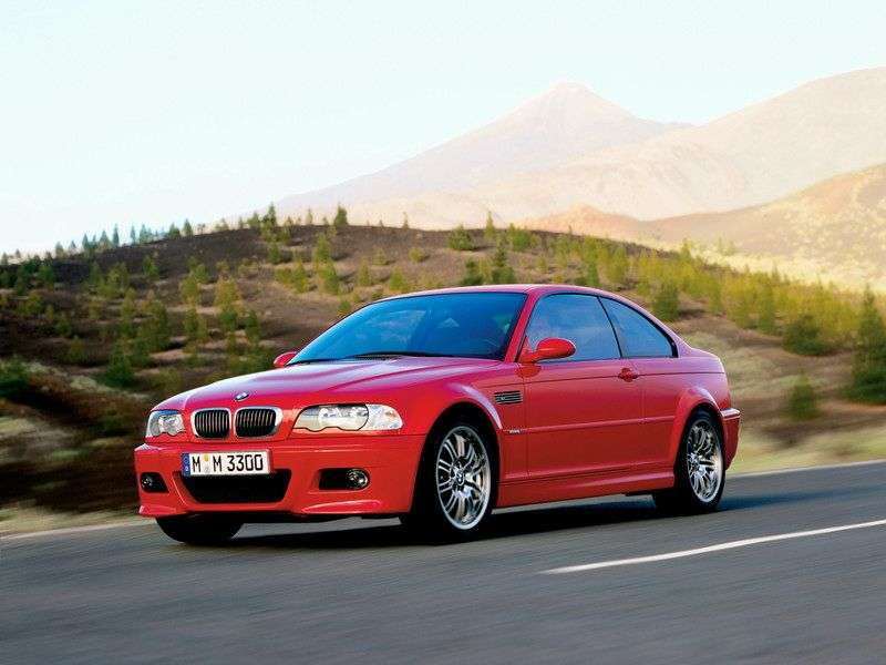 BMW M Series E46 3 Series Coupe 3.2 MT (2000–2006)