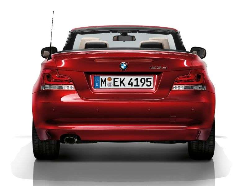 BMW 1 Series E82 / E88 [2nd Restyling] Convertible 125i AT Basic (2008 – present)