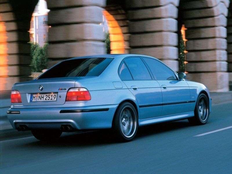 BMW M Series E39 5 Series 5.0 MT (1998–2004)