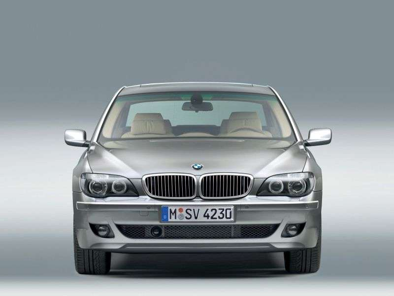 BMW 7 Series E65 / E66 [Restyling] 750i AT Sedan (2005–2008)