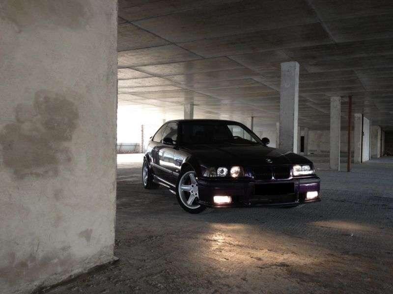BMW M Series E36 3 Series Coupe 3.2 MT (1995–1999)