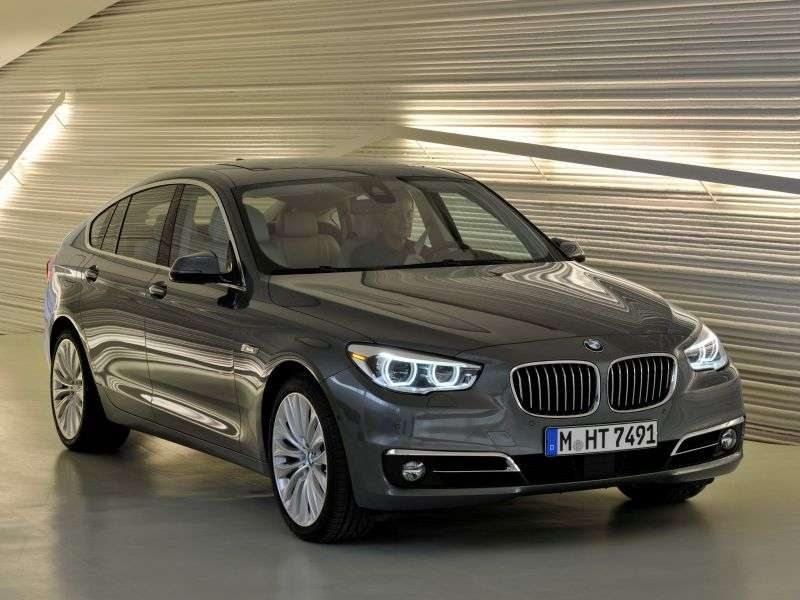 BMW 5 Series Gran Turismo F07 [restyling] Hatchback 530d AT Basic (2013 – current century)