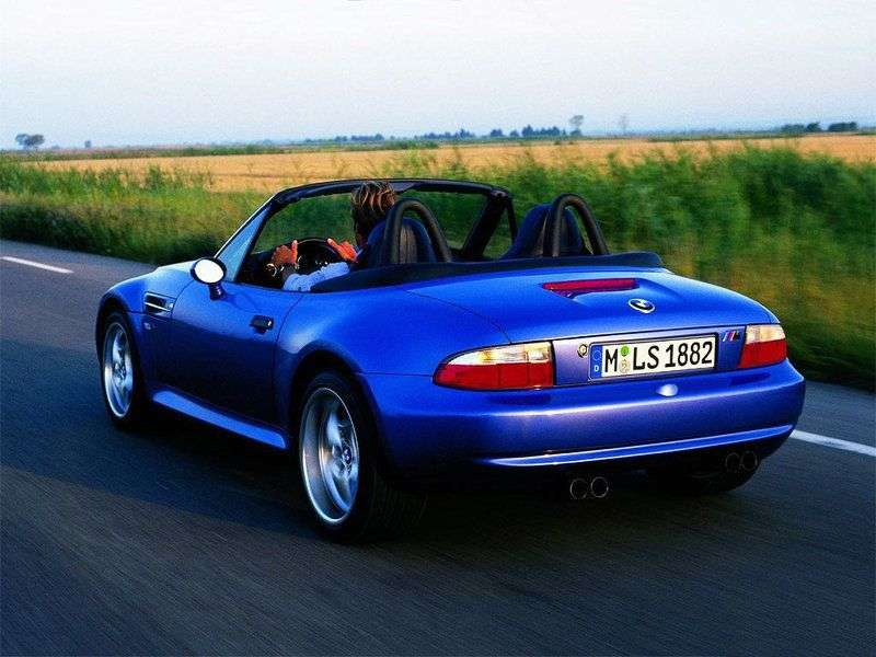 BMW M Series E36 / 7 Z3dster 3.2i MT (1997–2000)