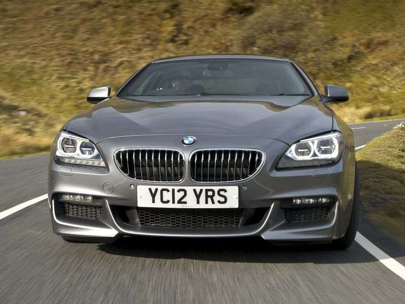 BMW 6 Series F06 / F12 / F13Gran Coupe Coupe 4 doors 640d xDrive AT Basic (2012 – current century)