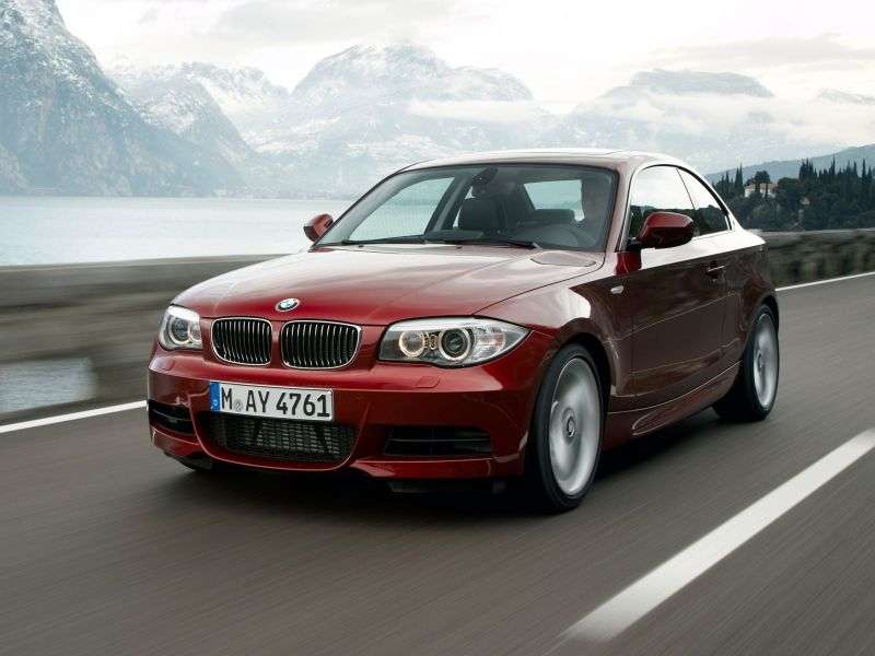 BMW 1 Series E82 / E88 [2nd Restyling] Coupe 135i AMT Basic (2010 – current century)