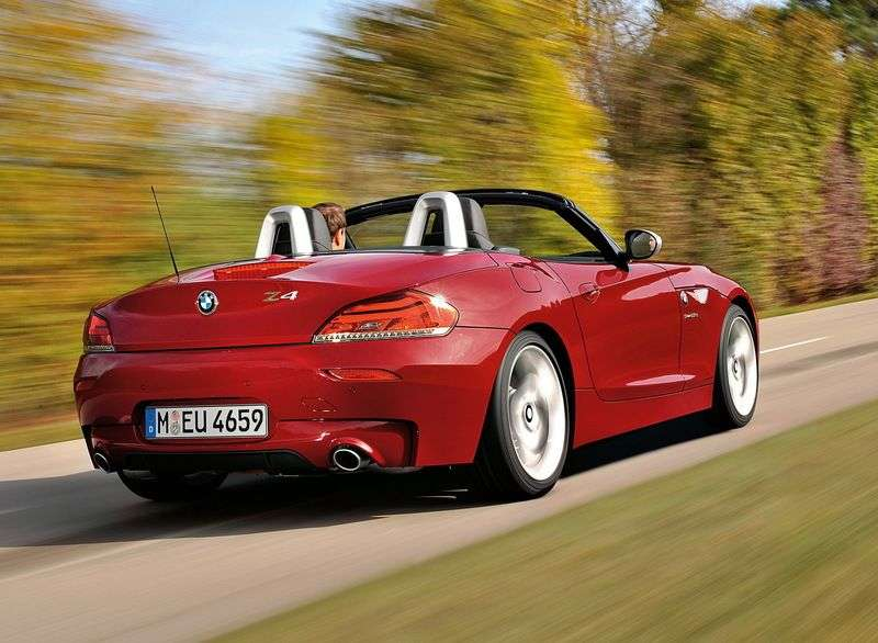 BMW Z4 E89Rodster sDrive20i AT Basic (2010 – current century)