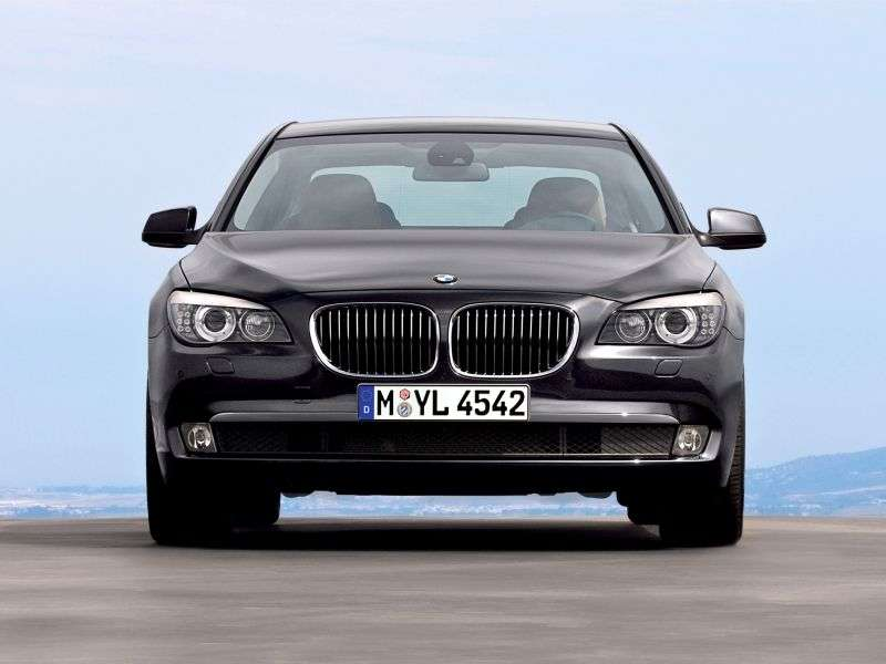 BMW 7 Series F01 / F02sedan 730Ld AT Basic (2008–2012)