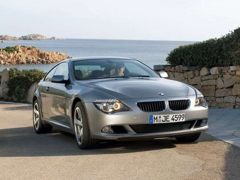 BMW 6 Series E63 / E64 [Restyling] Coupe 650i MT (2008–2010)