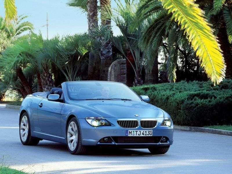 BMW 6 Series E63 / E64 650Ci AT (2006–2007)