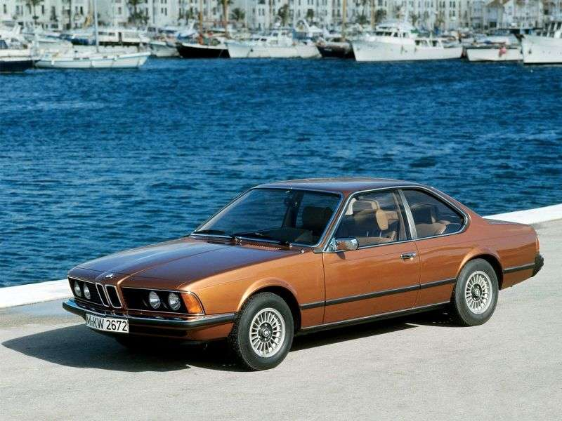 BMW 6 Series E24 Coupe 628CSi 5MT (1979–1982)