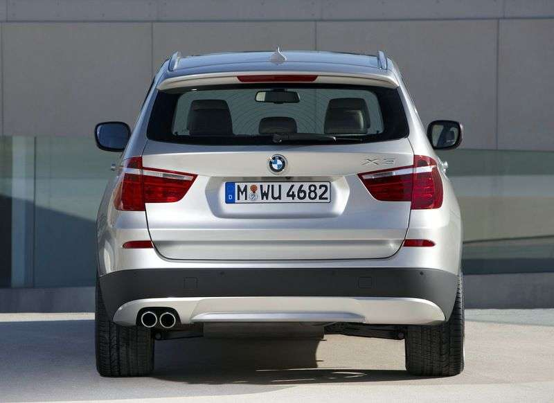 BMW X3 F25crosser xDrive28i AT Exclusive. Local assembly (2012 – current century)
