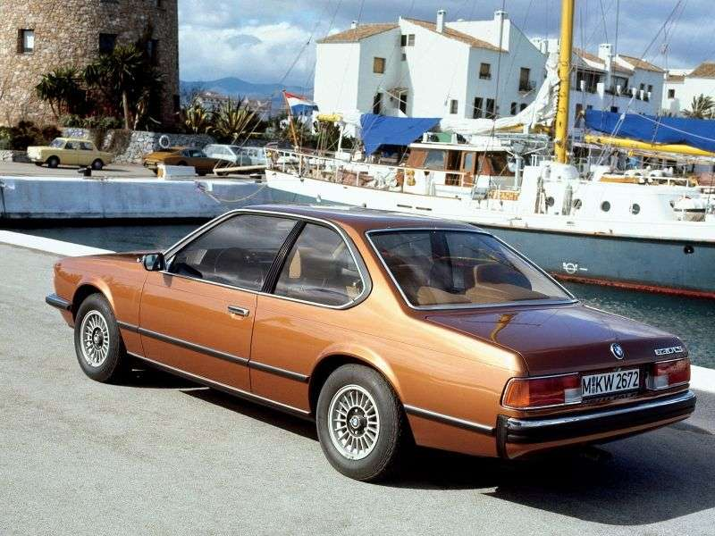 BMW 6 Series E24 Coupe 628CSi 4MT (1979–1982)