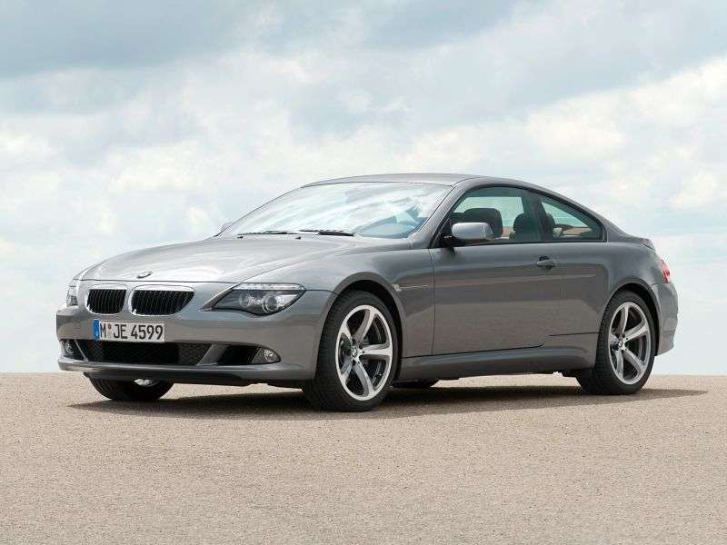 BMW 6 Series E63 / E64 [Restyling] Coupe 635d AT (2007–2010)